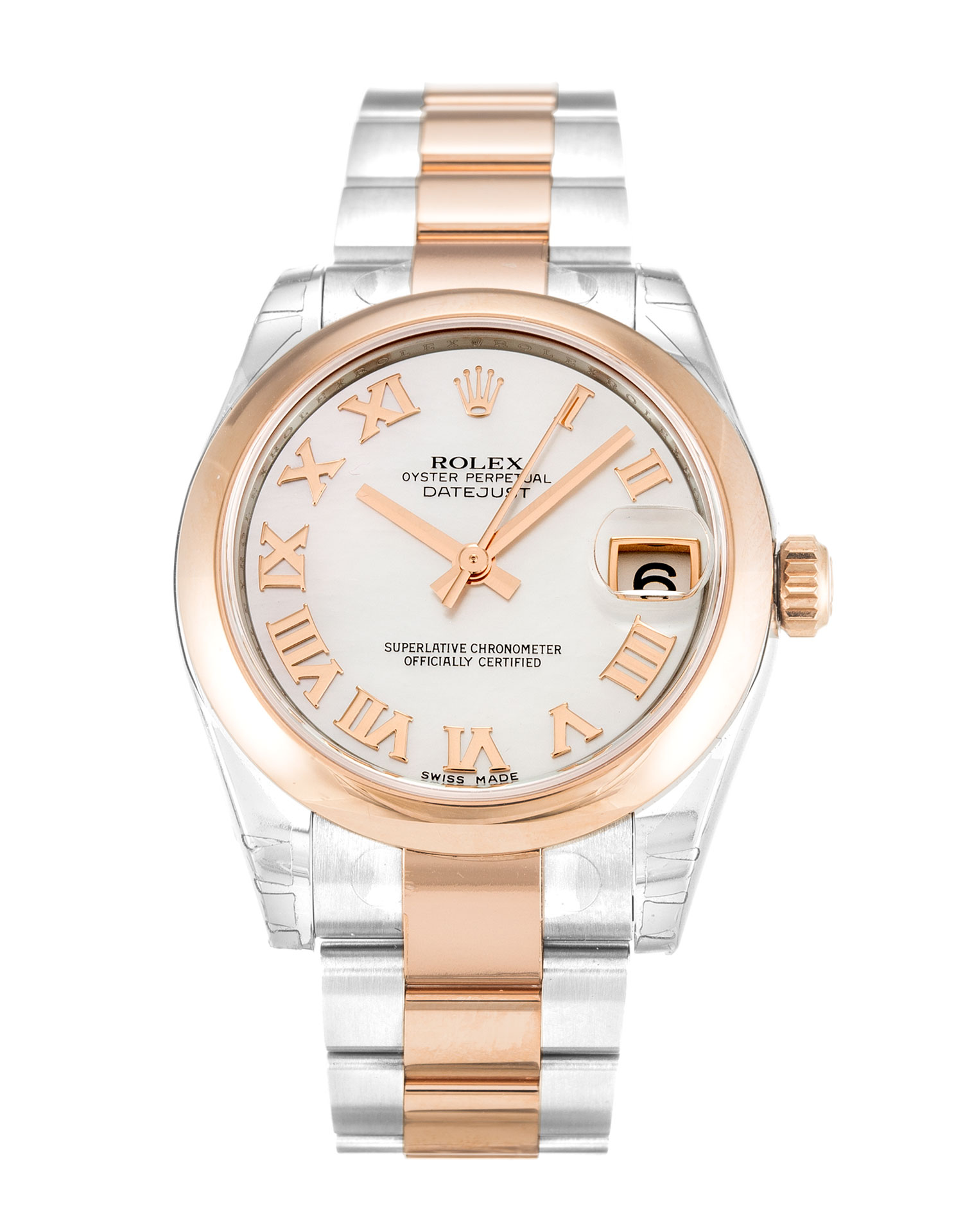 Rolex Mid-size Datejust 178241 Unisex 31 Mm Steel & Rose Gold Case Automatic Movement – iapac.to