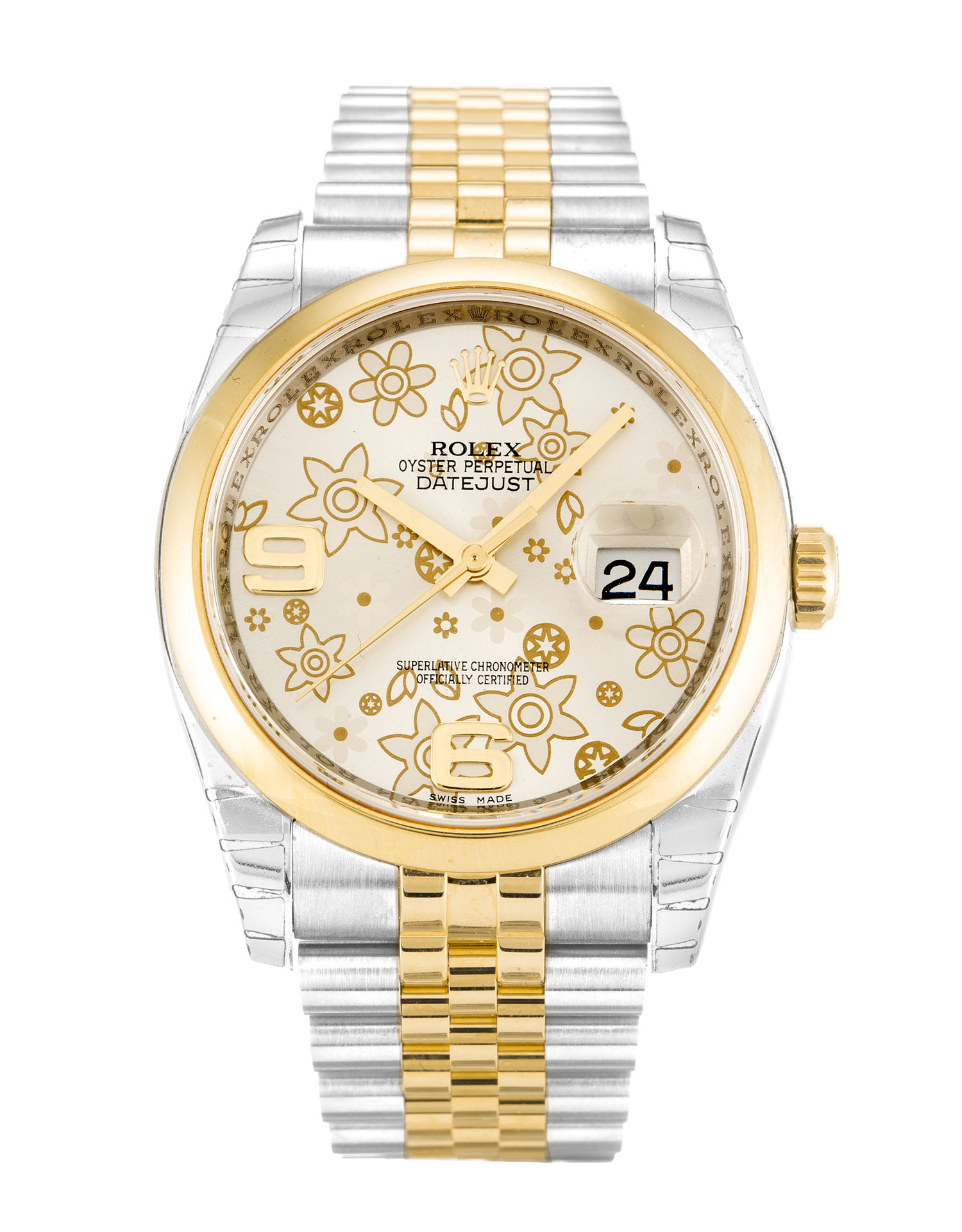 Rolex Datejust 116203 Unisex 36 Mm Steel & Yellow Gold Case Automatic Movement – iapac.to