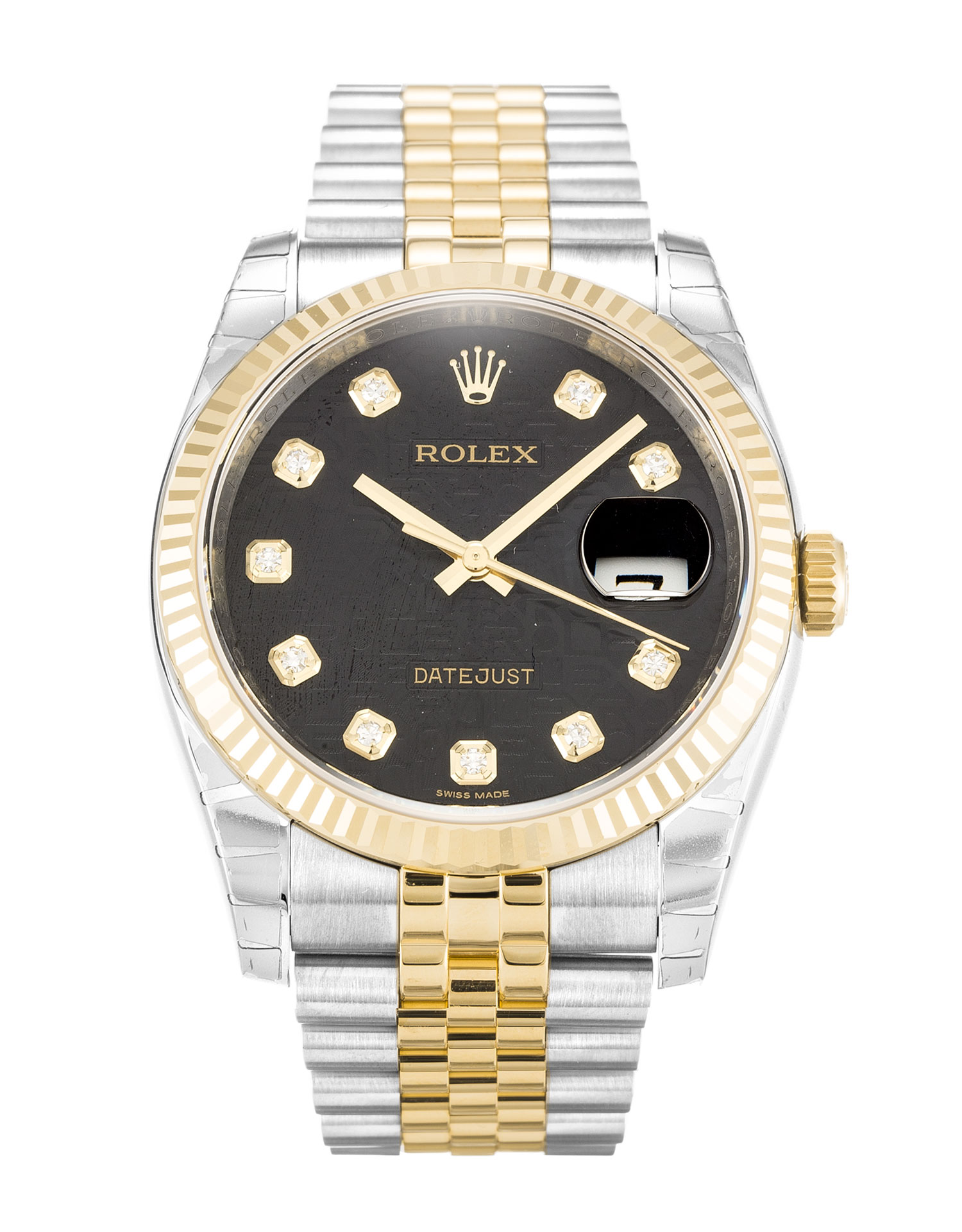 Rolex Datejust 116233 Mens 36 Mm Steel & Yellow Gold Case Automatic Movement – iapac.to