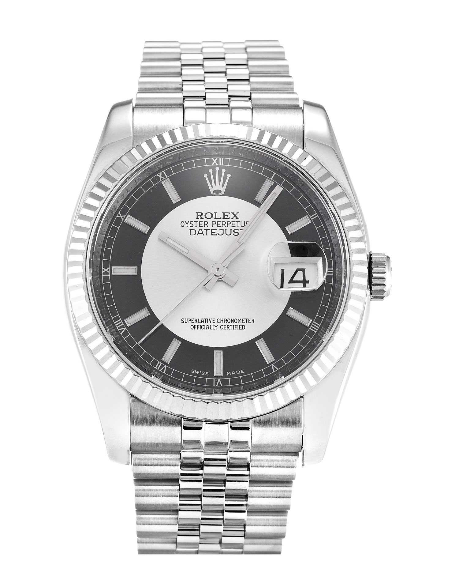 Rolex Datejust 116234 Mens 36 Mm Steel & White Gold Case Automatic Movement – iapac.to