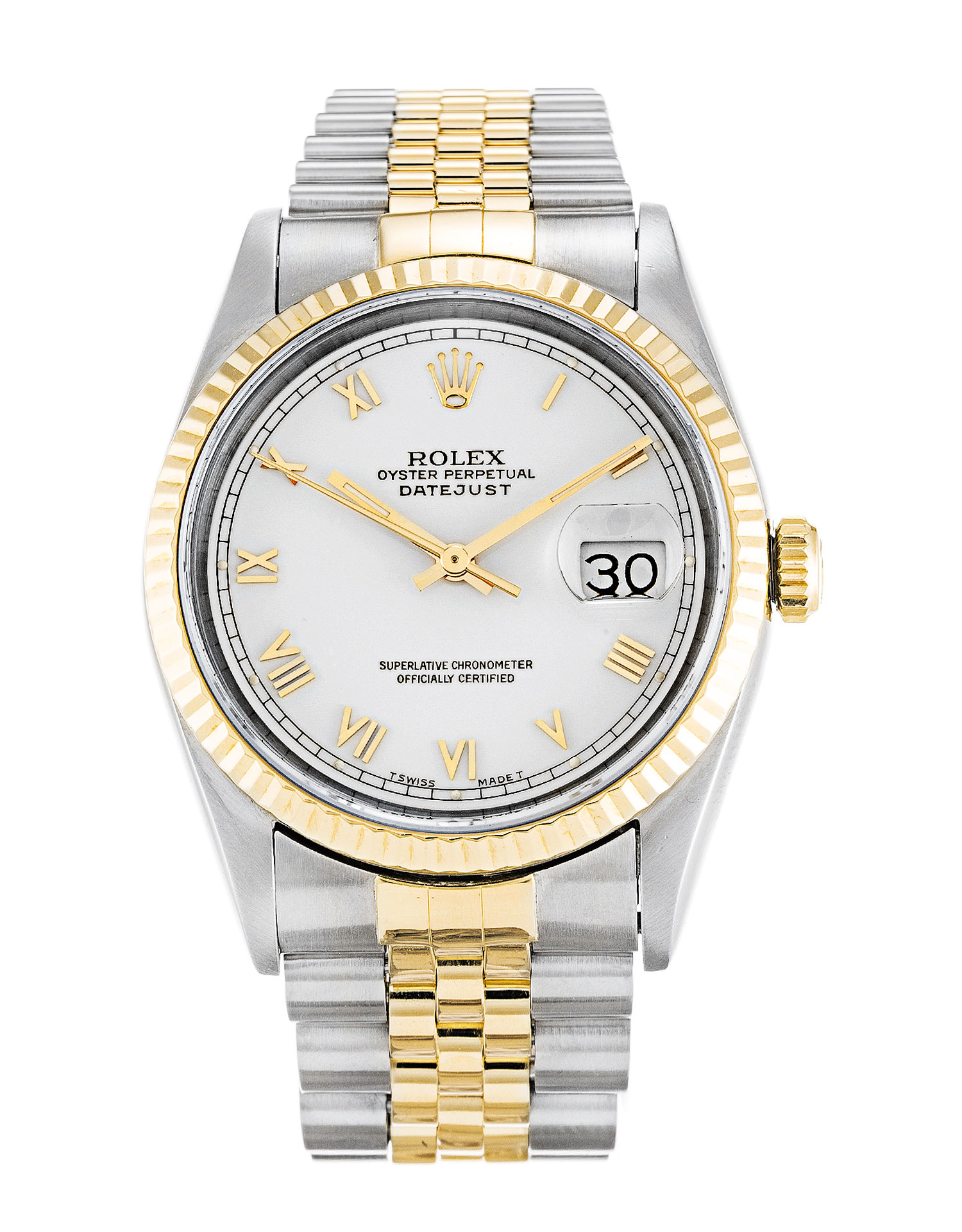 Rolex Datejust 16233 Unisex 36 Mm Steel & Yellow Gold Case Automatic Movement – iapac.to