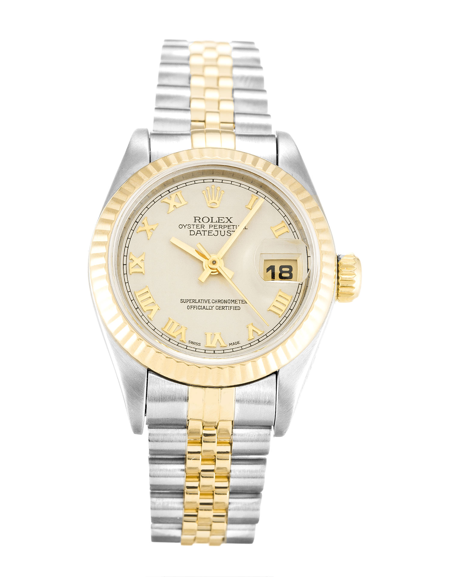 Rolex Datejust Lady 69173 Ladies 26 Mm Steel & Yellow Gold Case Automatic Movement – iapac.to