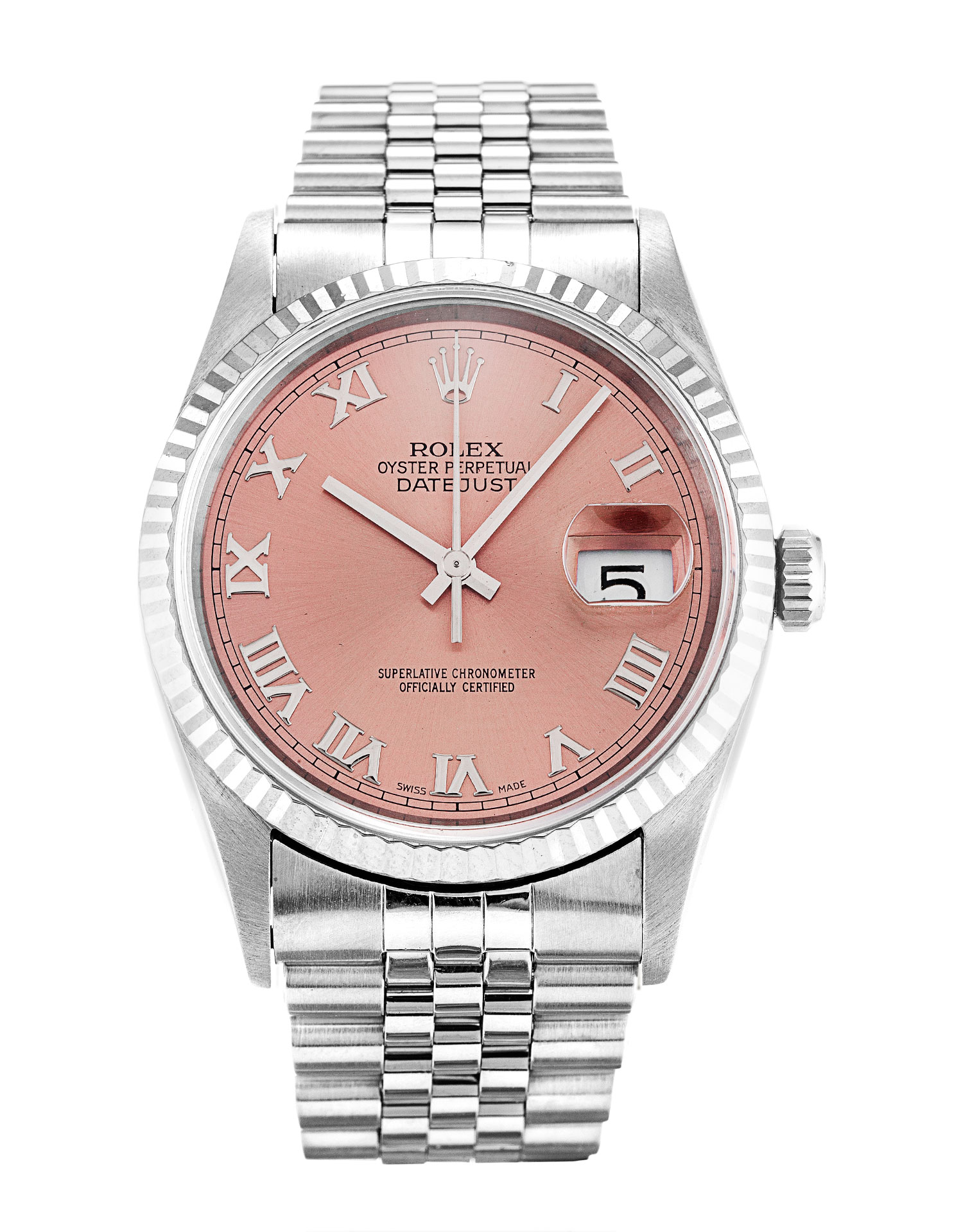 Rolex Datejust 16234 Mens 36 Mm Steel & White Gold Case Automatic Movement – iapac.to