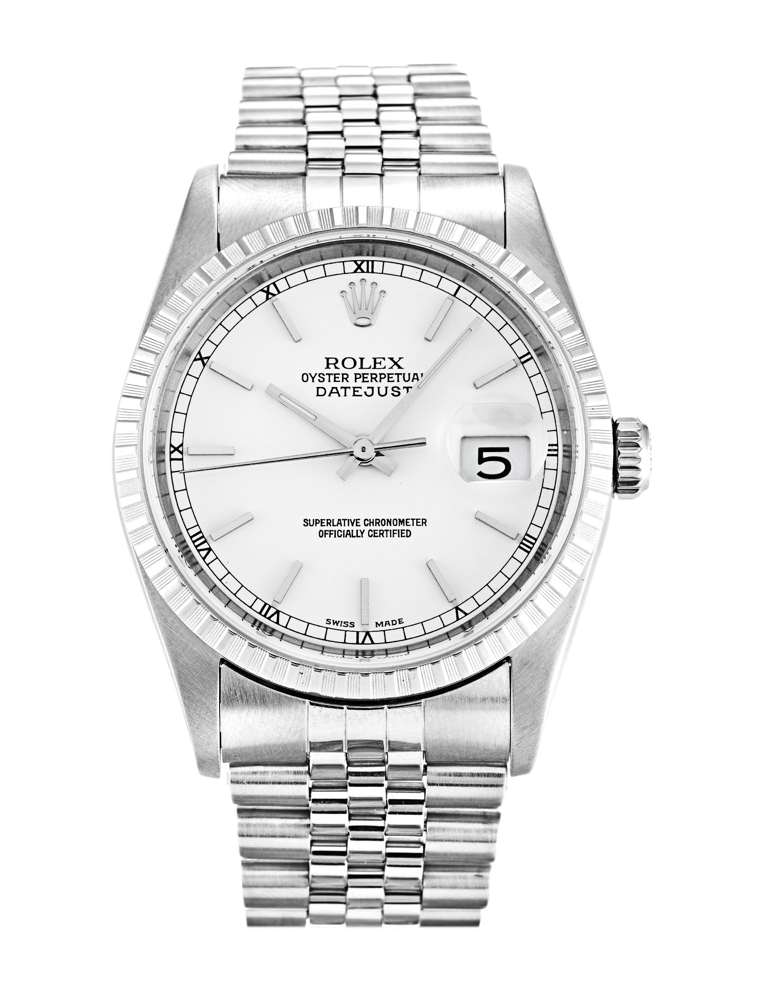 Rolex Datejust 16220 Unisex 36 Mm Steel Case Automatic Movement – iapac.to