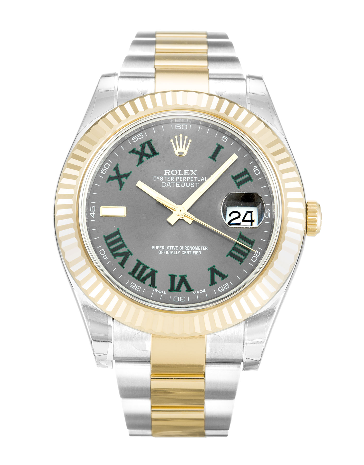 Rolex Datejust Ii 116333 Mens 41 Mm Steel & Yellow Gold Case Automatic Movement – iapac.to