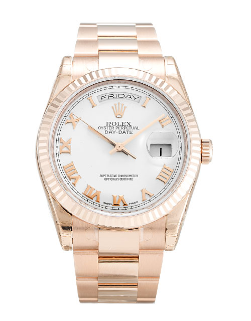 Rolex Day-date 118235 F Mens 36 Mm Rose Gold Case Automatic Movement – iapac.to