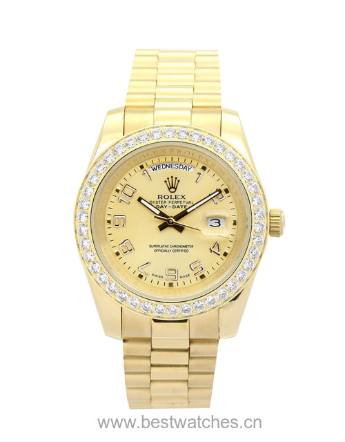 Rolex Day-date Ii 218348 Mens 41 Mm Yellow Gold Set With Diamonds Case Automatic Movement – iapac.to