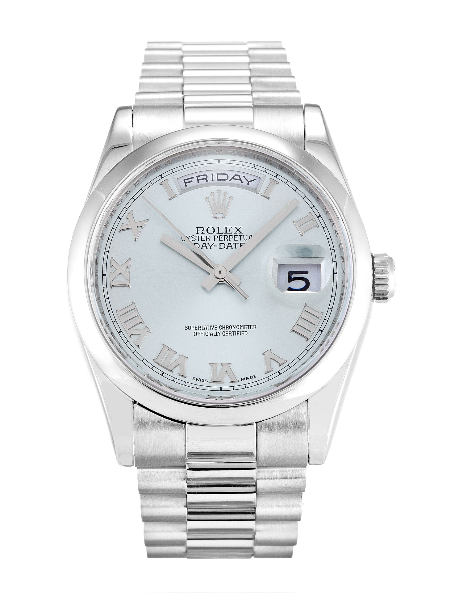 Rolex Day-date 118206 Mens 36 Mm Platinum Case Automatic Movement – iapac.to