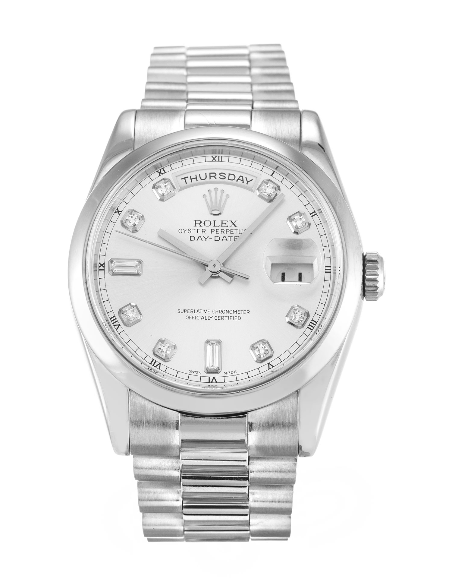 Rolex Day-date 118209 Mens 36 Mm White Gold Case Automatic Movement – iapac.to