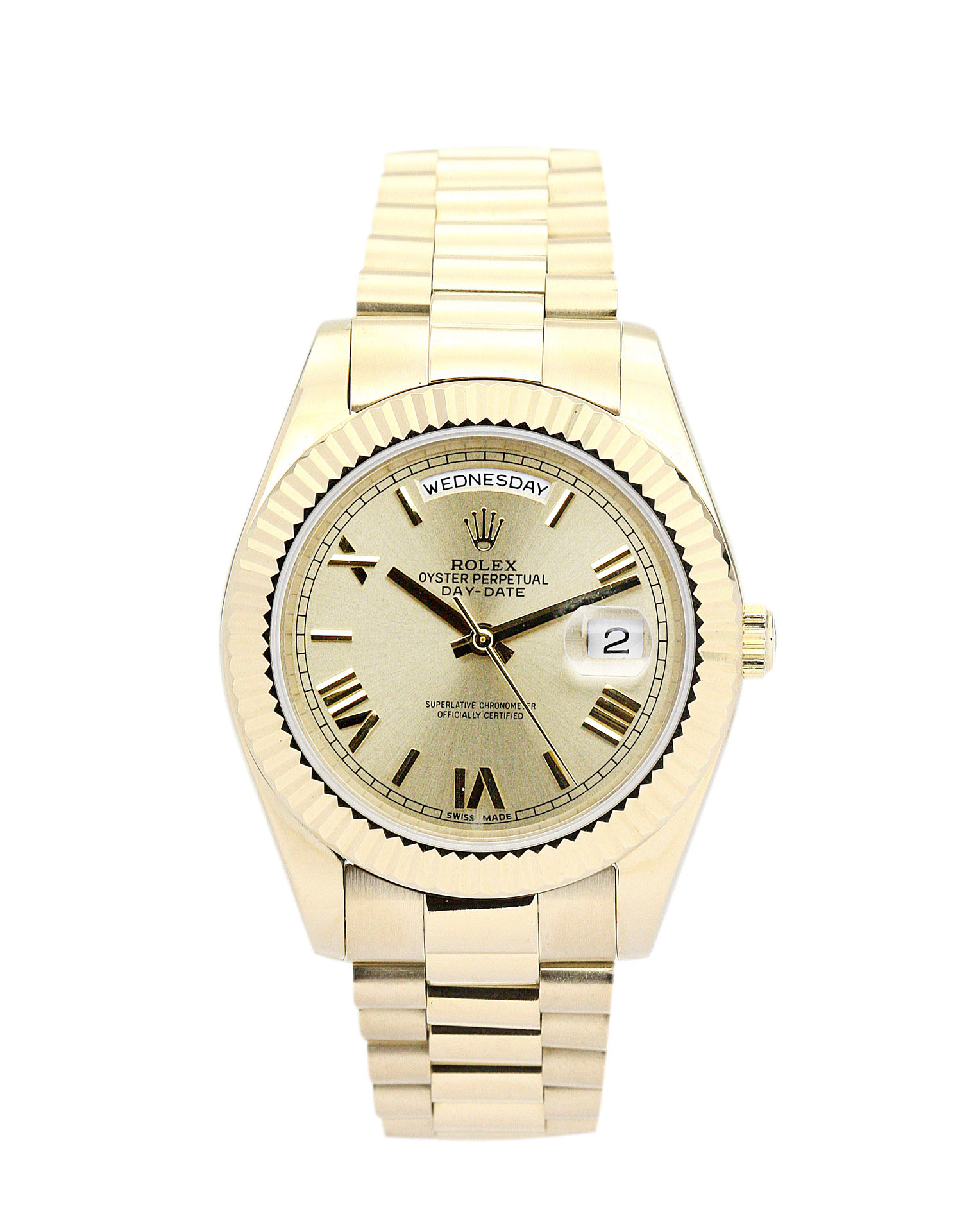Rolex Day-date Ii 218238 Mens 41 Mm Yellow Gold Case Automatic Movement – iapac.to