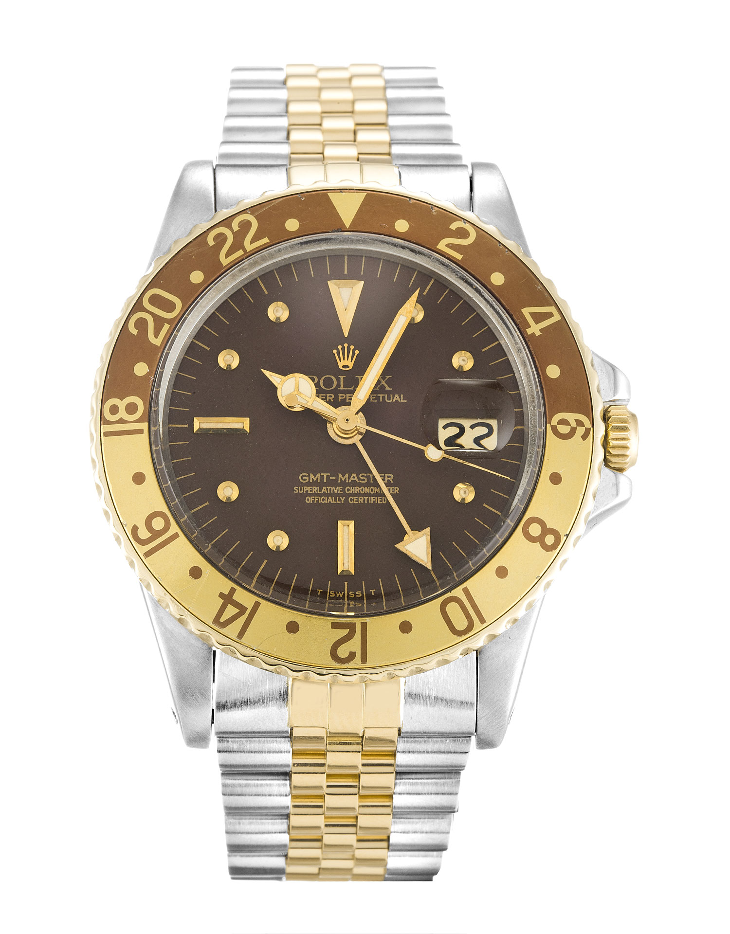 Rolex Gmt Master 1675 Mens 40 Mm Steel & Yellow Gold Case Automatic Movement – iapac.to