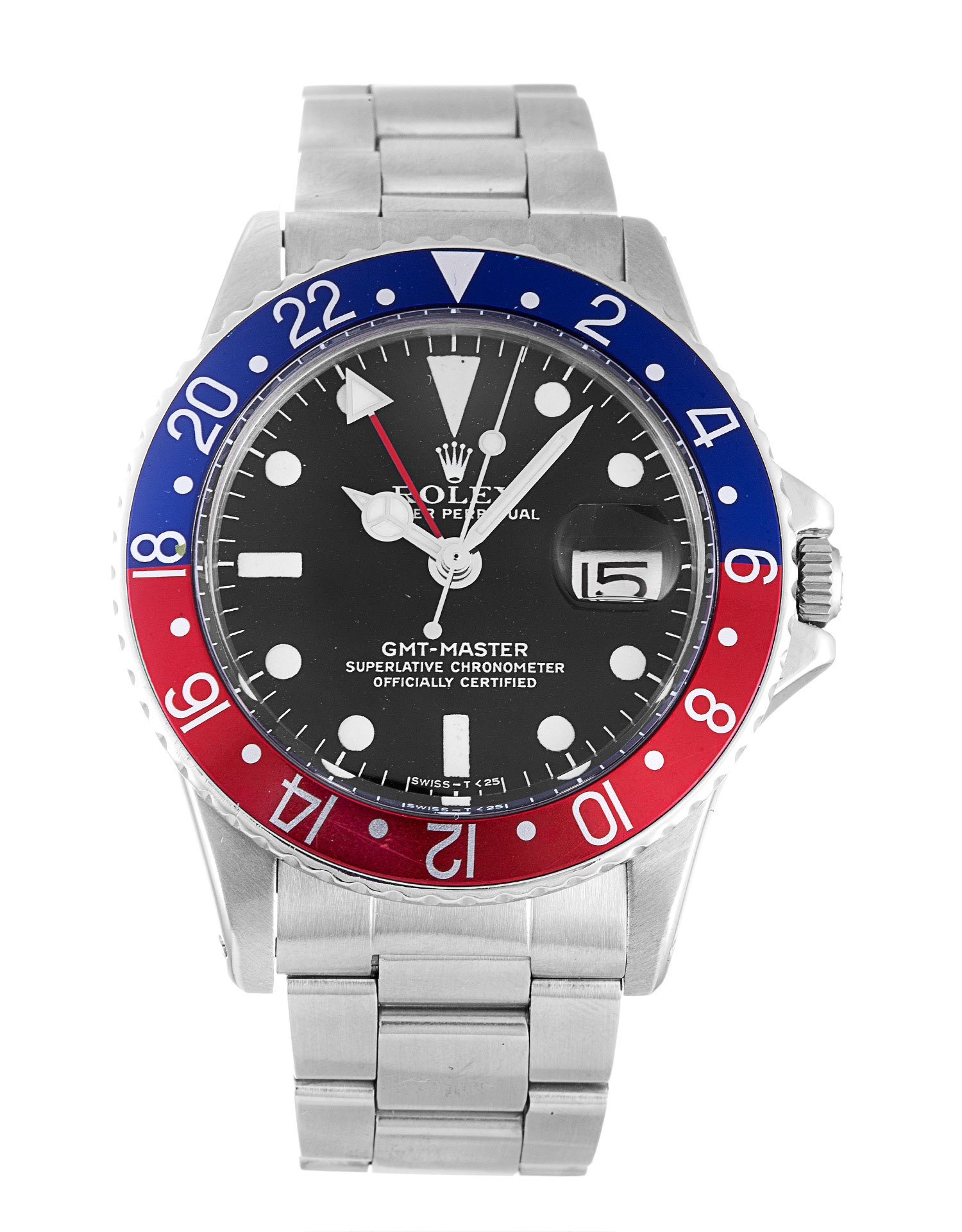 Rolex Gmt Master 1675 Mens 40 Mm Steel Case Automatic Movement – iapac.to