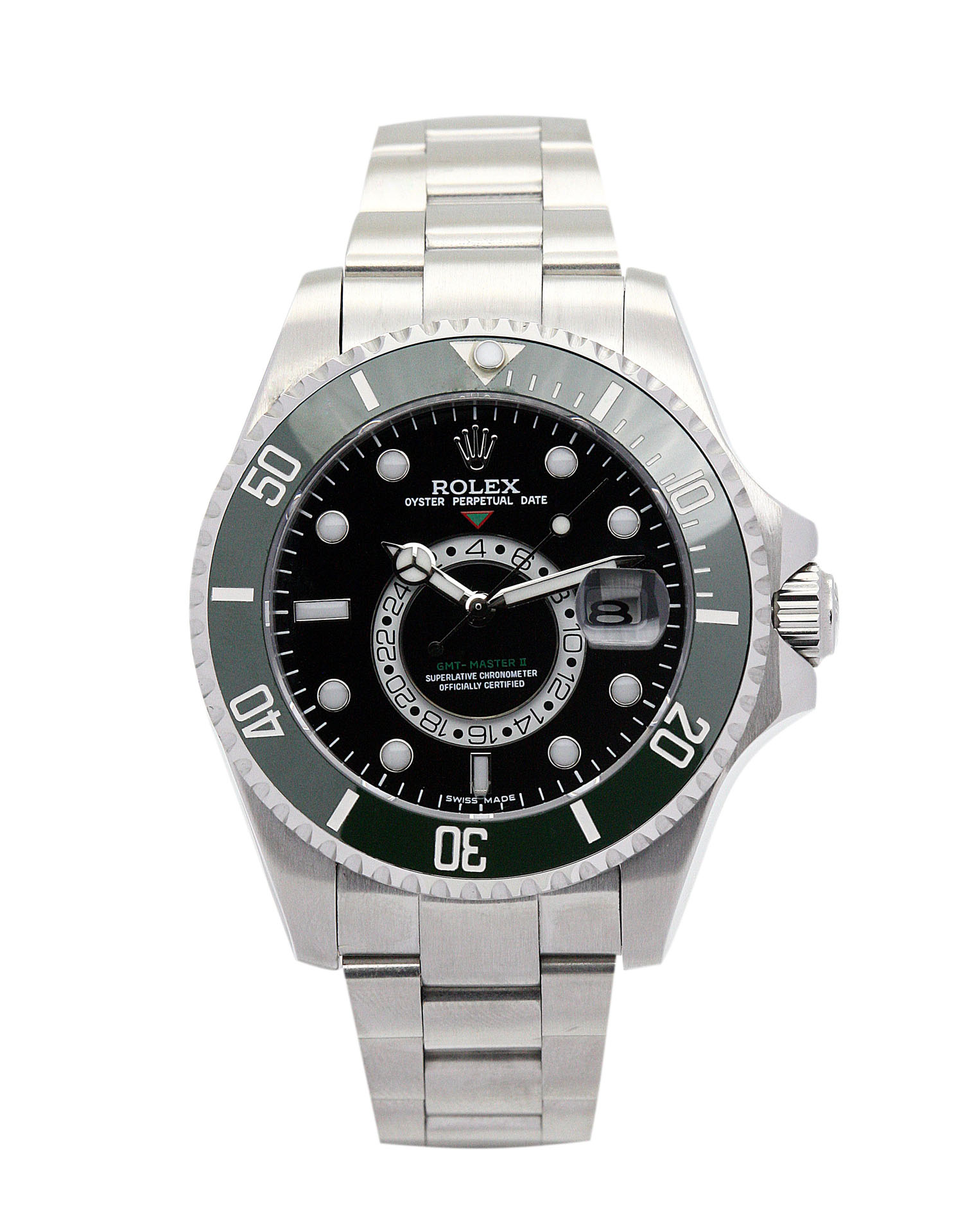Rolex Gmt Master 16720 Men 40 Green Steel Case Automatic Movement – iapac.to