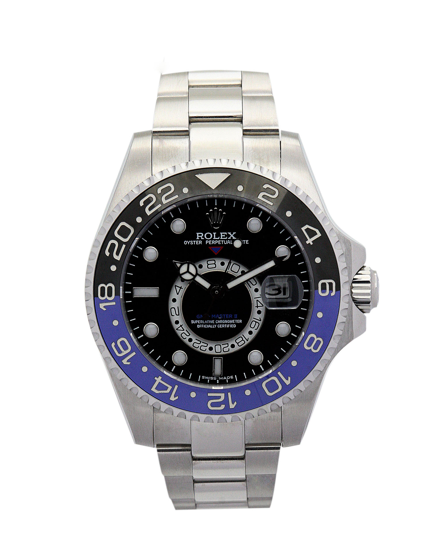 Rolex Gmt Master 16720 Men 40 Black Adn Blue Steel Case Automatic Movement – iapac.to