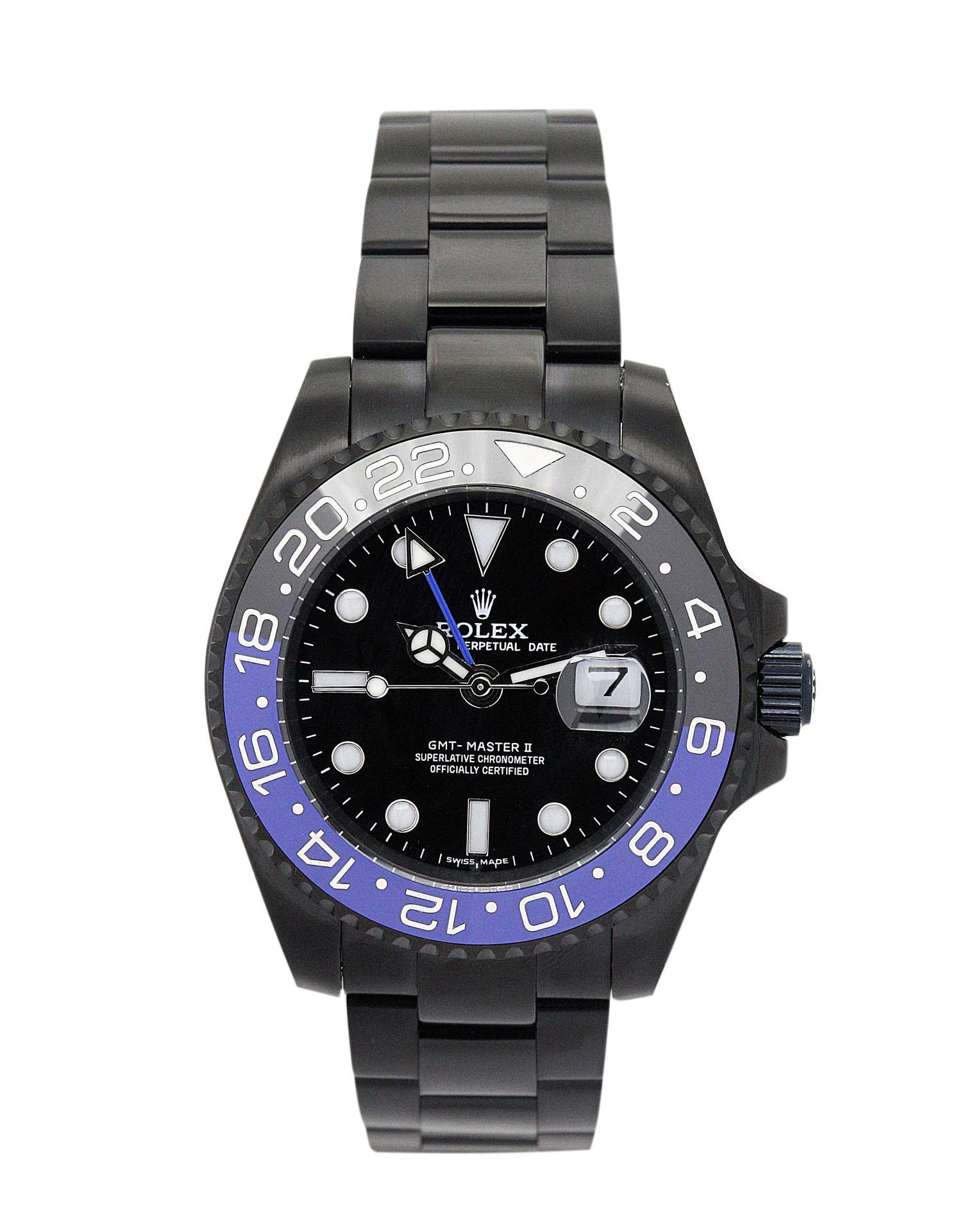 Rolex Men Oyster Perpetual 176200 Men  Black Adn Blue Steel Case Automatic Movement – iapac.to