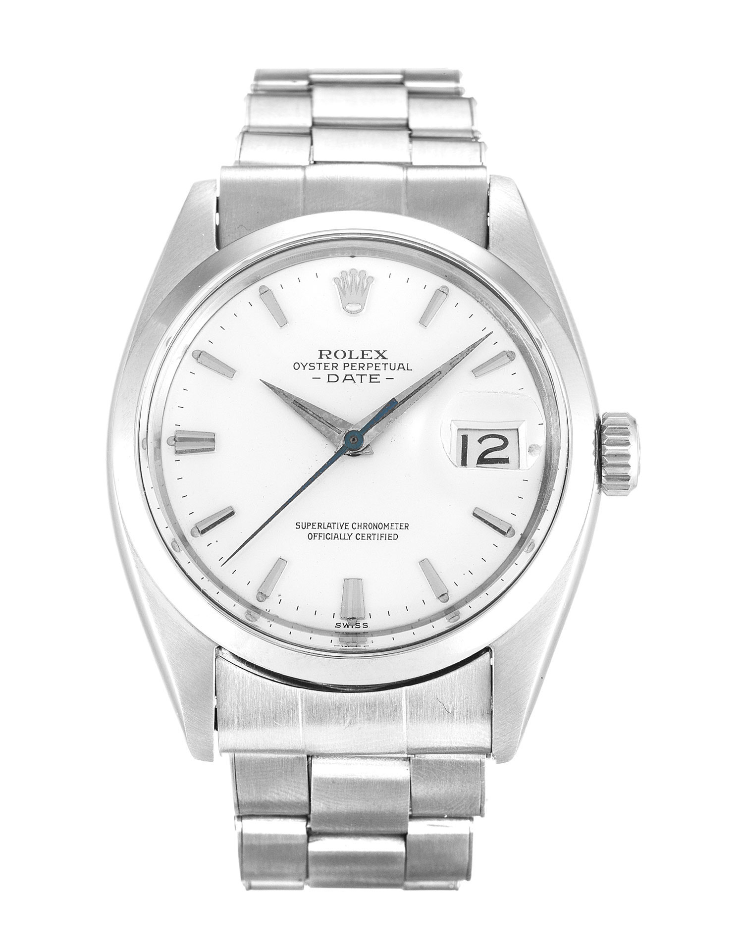Rolex Oyster Perpetual Date 1500 Mens 36 Mm Steel Case Automatic Movement – iapac.to