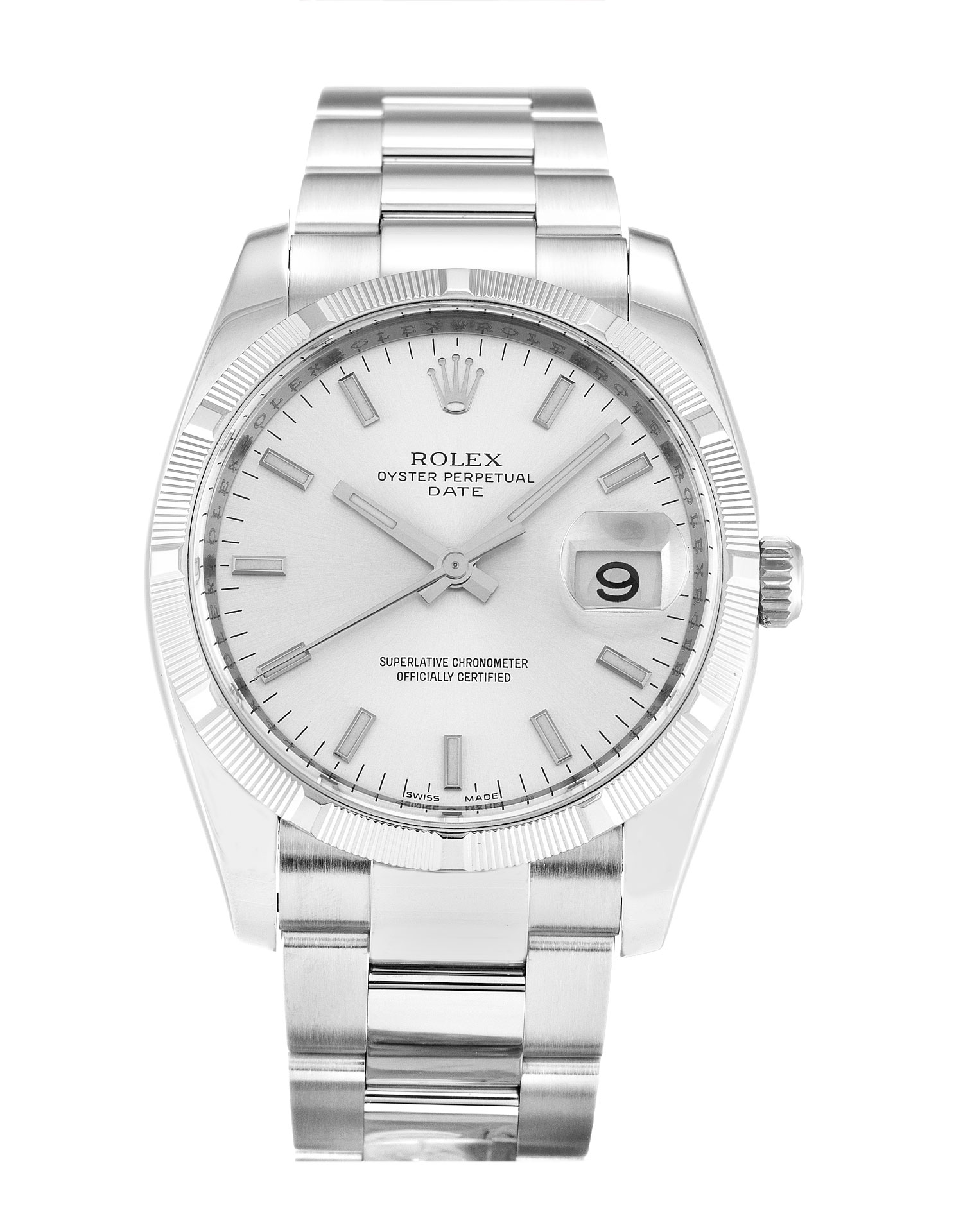 Rolex Oyster Perpetual Date 115210 Unisex 34 Mm Steel Case Automatic Movement – iapac.to