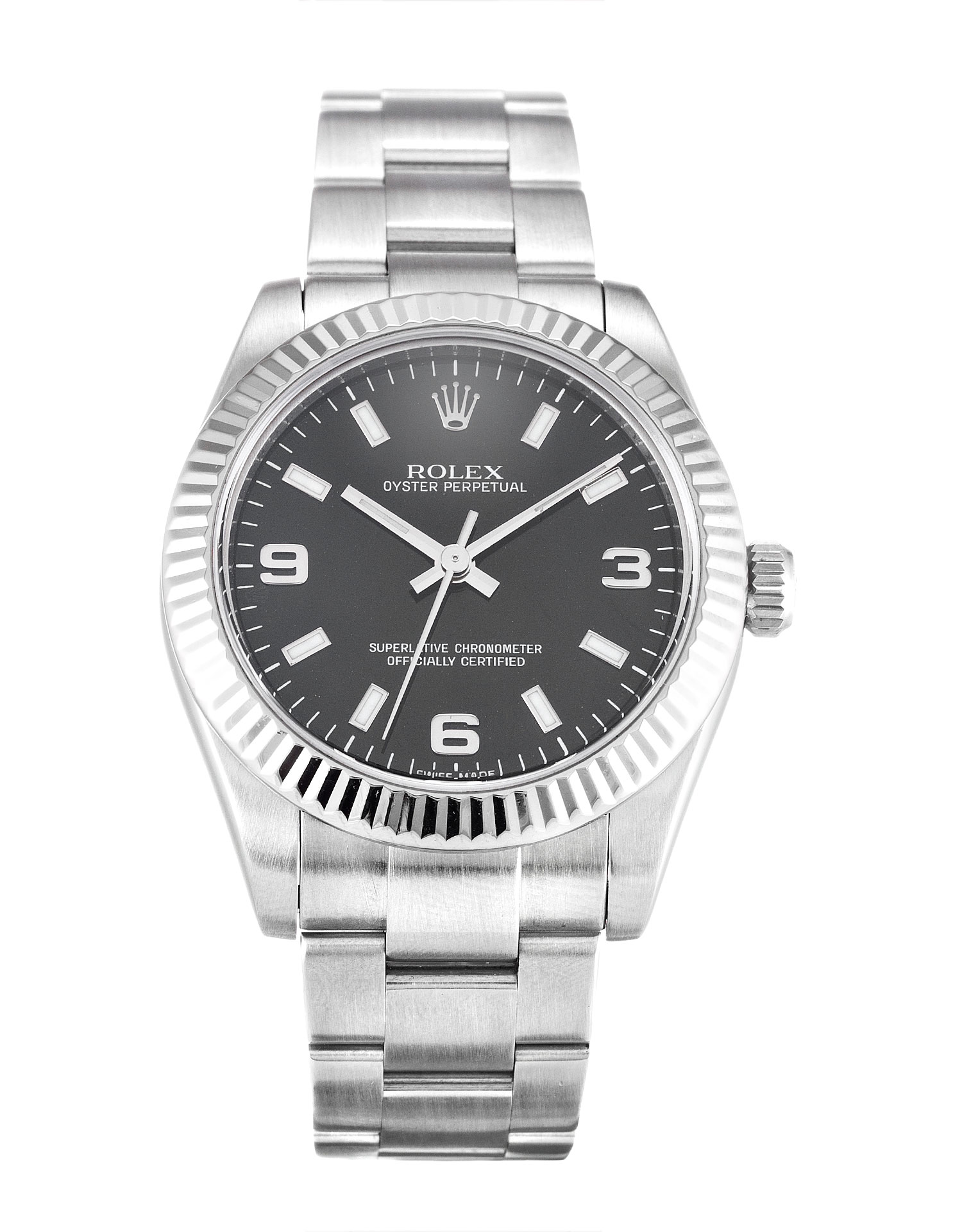 Rolex Lady Oyster Perpetual 177234 Ladies 31 Mm Steel & White Gold Case Automatic Movement – iapac.to
