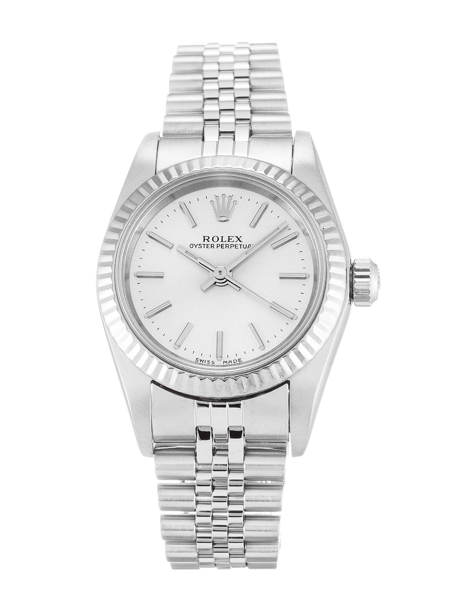 Rolex Lady Oyster Perpetual 76094 Ladies 26 Mm White Gold Case Automatic Movement – iapac.to
