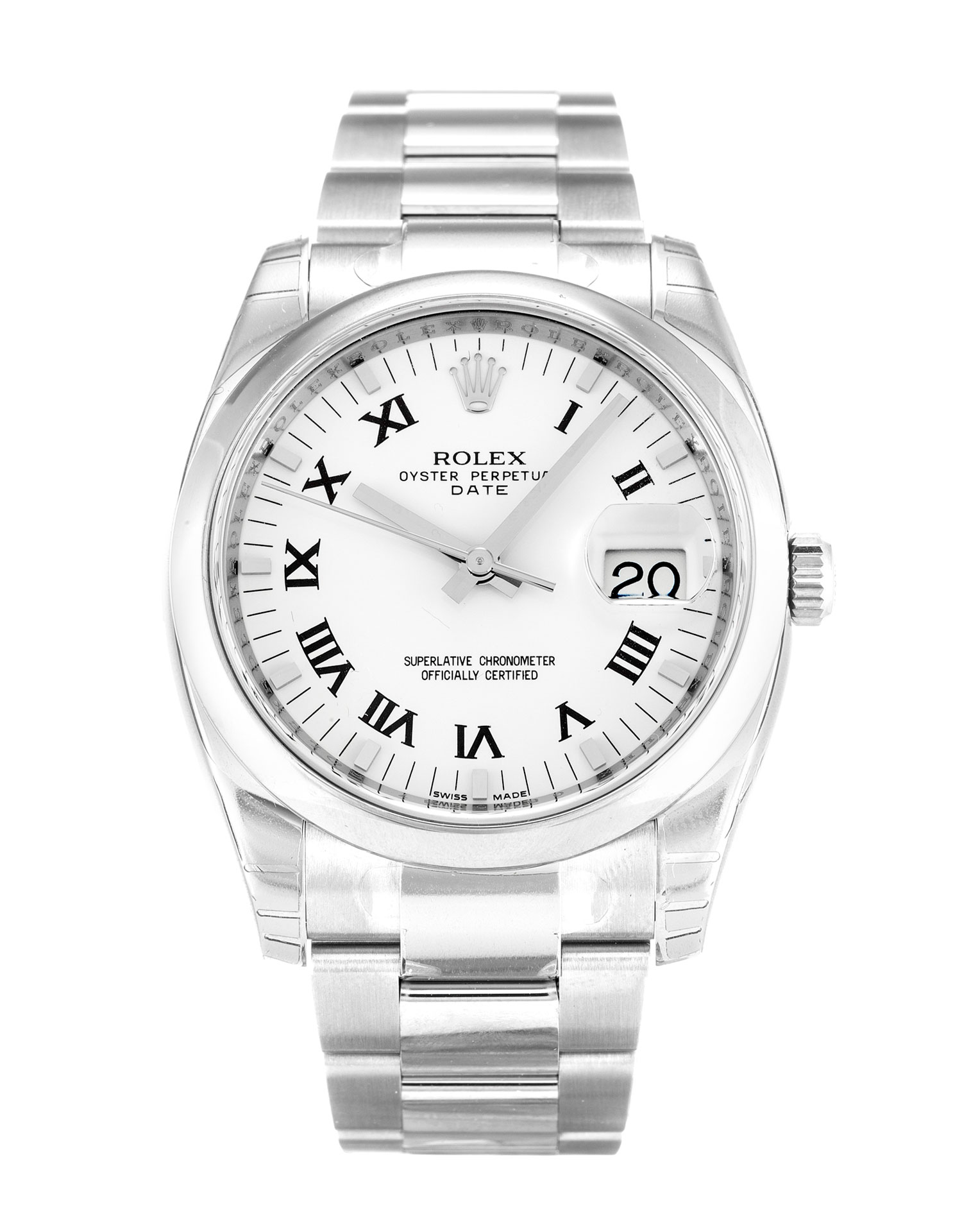 Rolex Oyster Perpetual Date 115200 Unisex 34 Mm Steel Case Automatic Movement – iapac.to