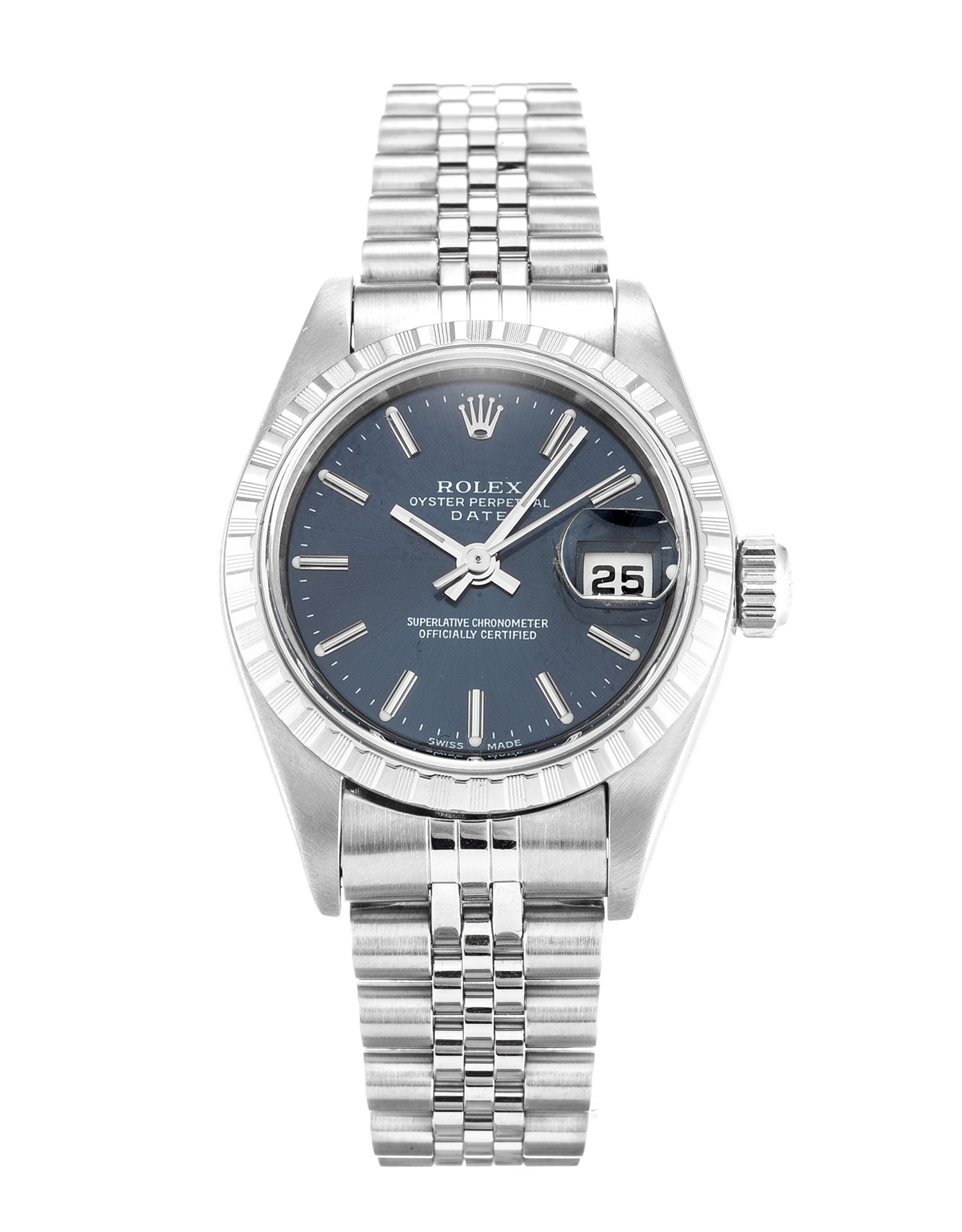 Rolex Lady Oyster Perpetual 79240 Ladies 25 Mm Steel Case Automatic Movement – iapac.to