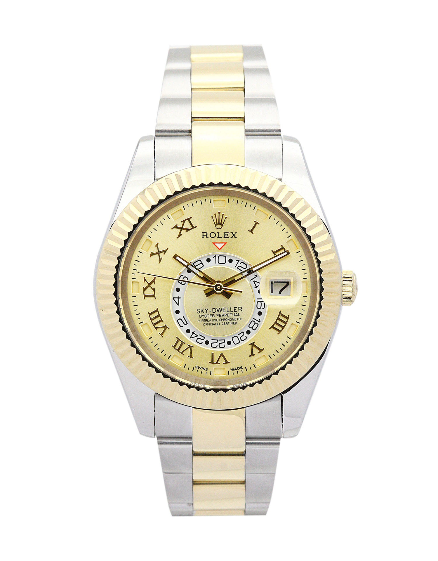 Rolex Sky-dweller 326938 Mens 42 Mm Yellow Gold Case Automatic Movement – iapac.to