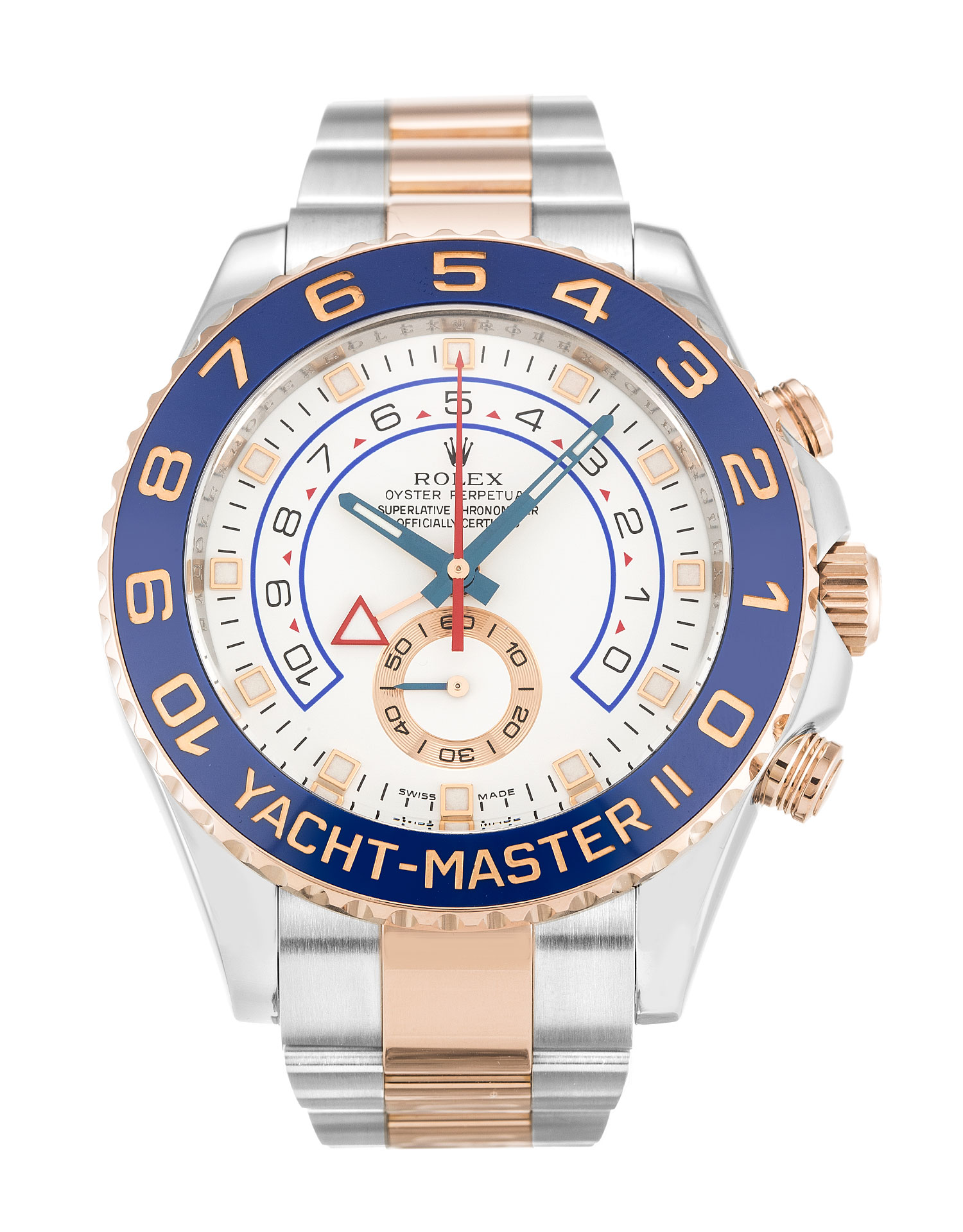 Rolex Yacht-master Ii 116681 Mens 44 Mm Steel & Rose Gold Case Automatic Movement – iapac.to