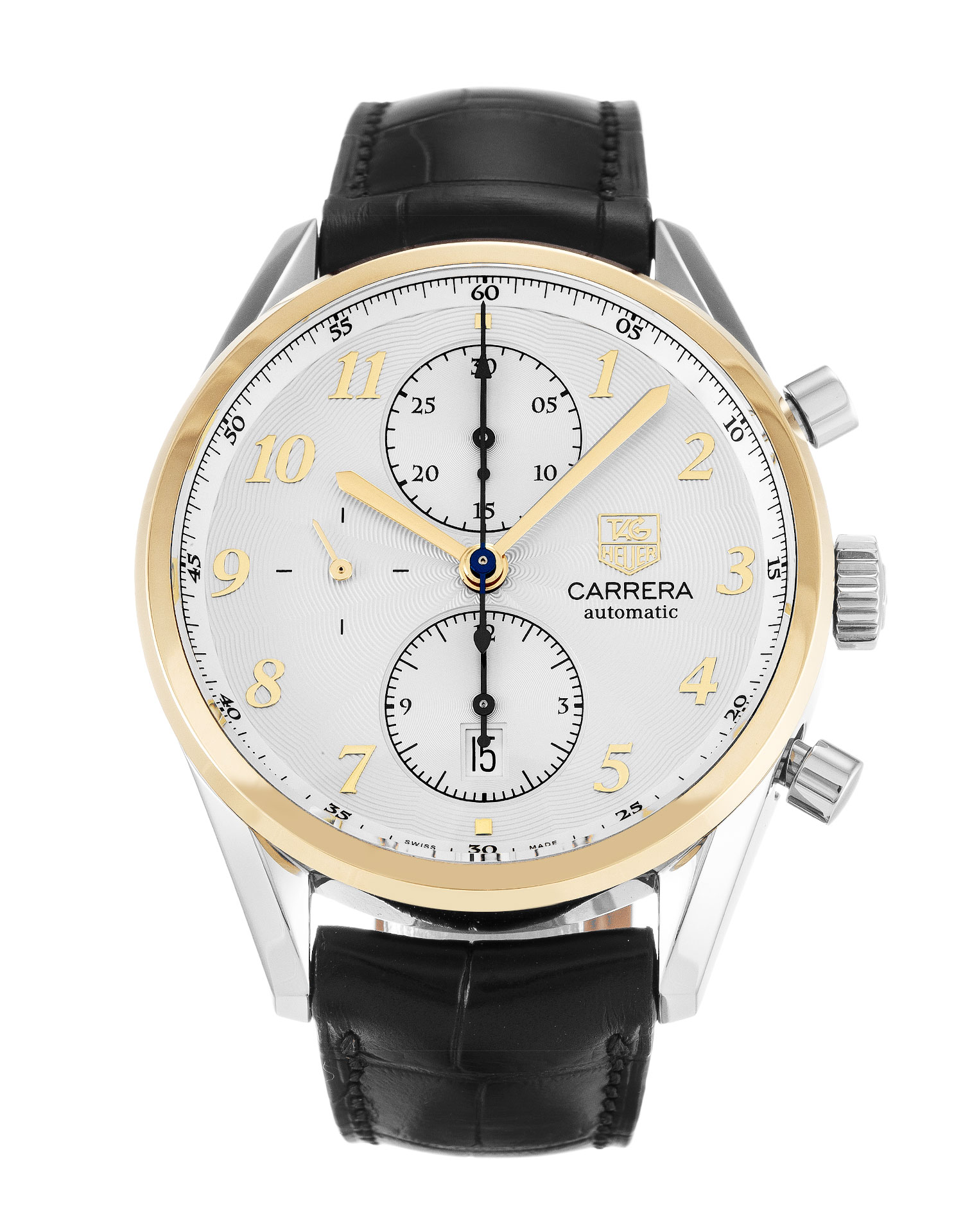 Tag Heuer Carrera Cas2150.Fc6291 Mens 41 Mm Steel & Yellow Gold Case Quartz Movement – iapac.to
