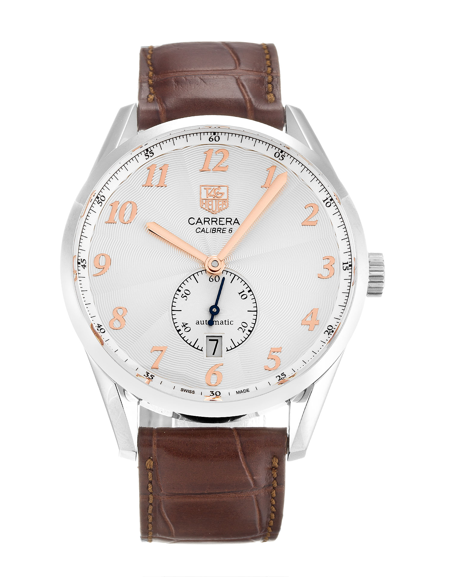Tag Heuer Carrera Was2112.Fc6181 Mens 38 Mm Steel Case Automatic Movement – iapac.to