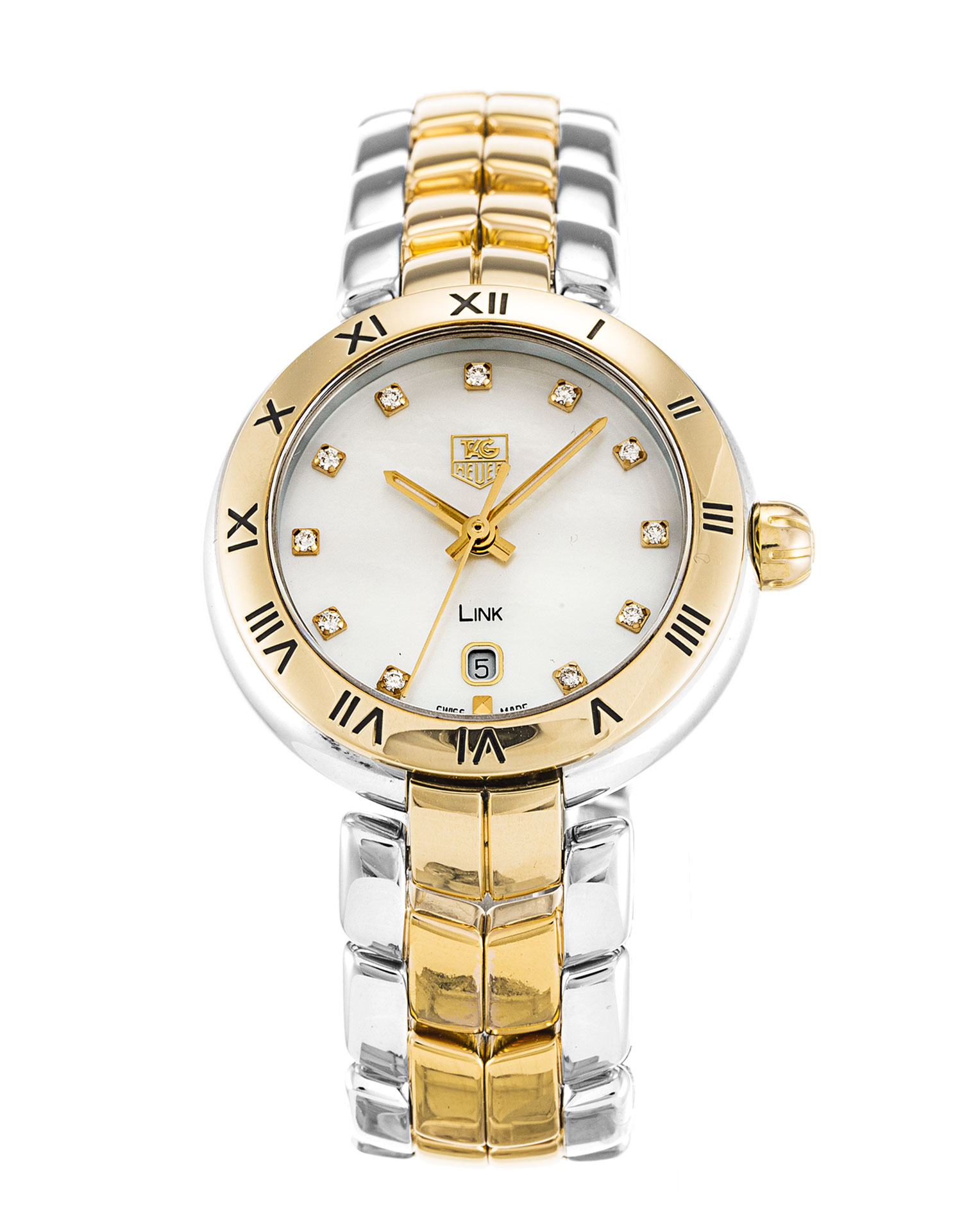 Tag Heuer Link Wat1453.Bb0960 Ladies 27 Mm Steel & Yellow Gold Case Quartz Movement – iapac.to